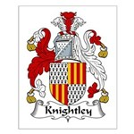 Knightley Family Crest Small Poster