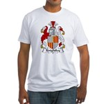 Knightley Family Crest Fitted T-Shirt