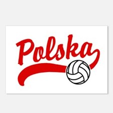 Polska Volleyball Postcards (Package of 8)