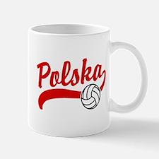 Polska Volleyball Mug