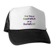 Good Witch/Bad Witch Trucker Hat