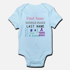 Preemie Miracle Personalized Birth Body Suit