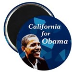 California for Obama 2008 magnet