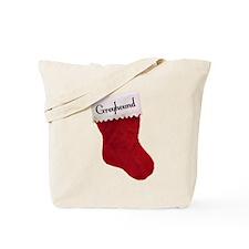 Greyhound Stocking Tote Bag