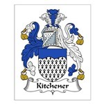 Kitchener Family Crest Small Poster