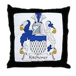 Kitchener Family Crest Throw Pillow