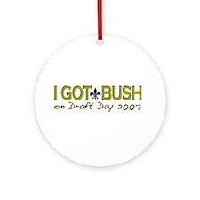 I got Bush Fantasy Draft Ornament (Round)