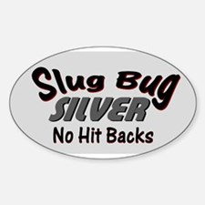 slug bug sticker oval