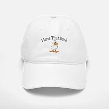 I Love That Duck Baseball Baseball Cap