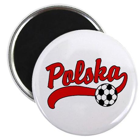 Polska Soccer Magnet