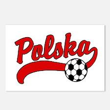 Polska Soccer Postcards (Package of 8)