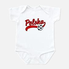 Polska Soccer Infant Bodysuit
