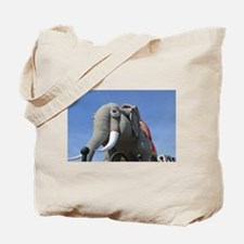Funny Lucy the elephant Tote Bag