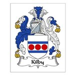 Kilby Family Crest Small Poster