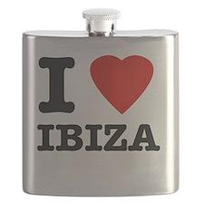 I Love Ibiza Flask