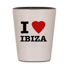 I Love Ibiza Shot Glass