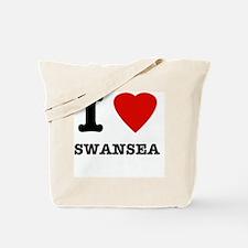 I love Swansea Tote Bag
