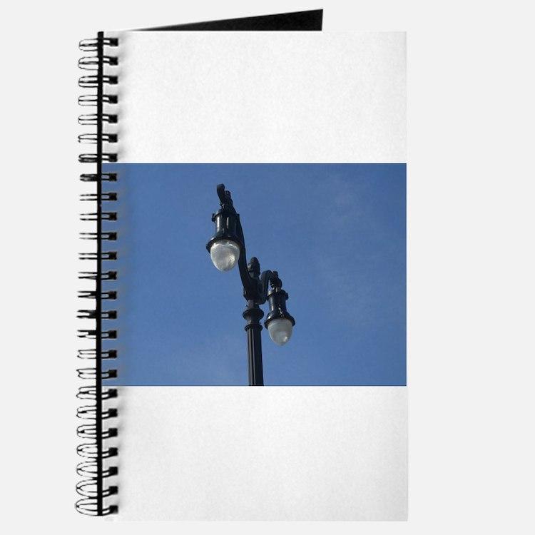Cute Lamppost Journal