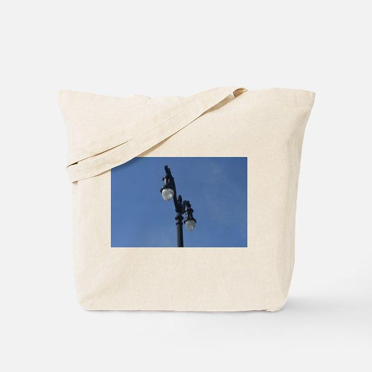 Cute Lamppost Tote Bag
