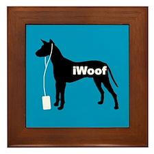 iWoof Xolo Framed Tile