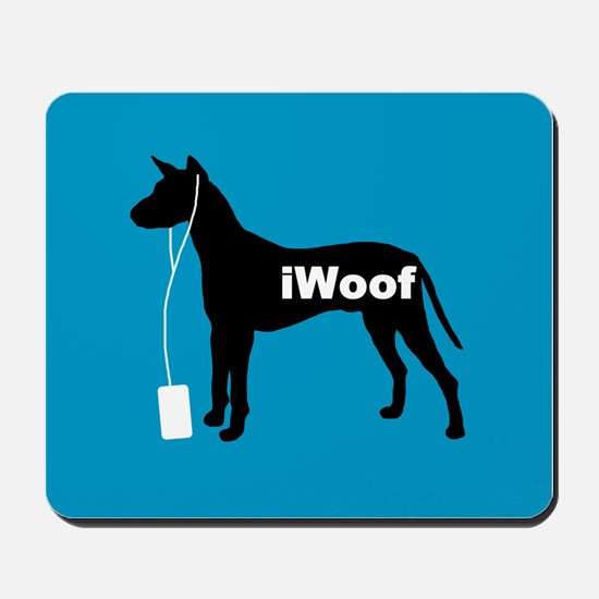 iWoof Xolo Mousepad