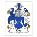 Kidd Family Crest Small Poster