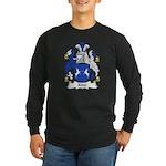 Kidd Family Crest Long Sleeve Dark T-Shirt