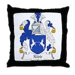 Kidd Family Crest Throw Pillow