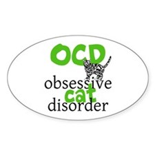 Cat Disorder Decal