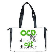 Cat Disorder Diaper Bag
