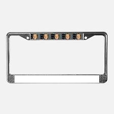 hillary clinton License Plate Frame
