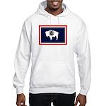 Wyoming State Flag Hooded Sweatshirt