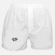 Jr. High, I Just Don't Get It Boxer Shorts