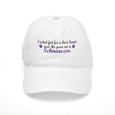 God Gave Me A Schnauzer Baseball Cap