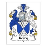 Kerry Family Crest Small Poster