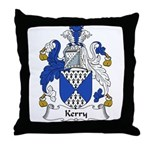 Kerry Family Crest Throw Pillow