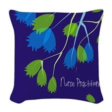 Nurse Practitioner Woven Throw Pillow