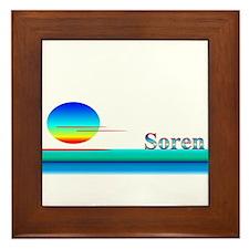 Soren Framed Tile