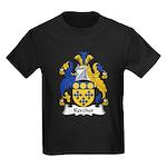 Kercher Family Crest Kids Dark T-Shirt