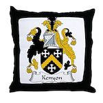 Kenyon Family Crest Throw Pillow