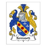 Kenward Family Crest Small Poster