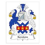 Kenton Family Crest Small Poster