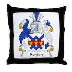 Kenton Family Crest Throw Pillow