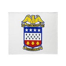 USS JONAS INGRAM Throw Blanket