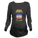 USS JONAS INGRAM Long Sleeve Maternity T-Shirt