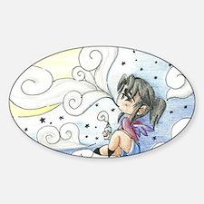 Konomoru Star Clouds Sticker (Oval)