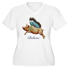 Believe Plus Size T-Shirt