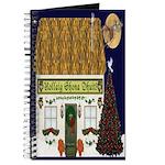 Irish Christmas Cottage (Gaelic) Journal