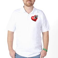 I Heart Dolphins T-Shirt