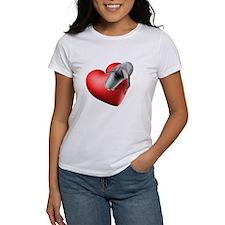 I Heart Dolphins Tee